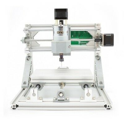 3 Axis Diy Cnc Router 16x10cm Carving Engraving Pcb Milling Machine500mw Laser