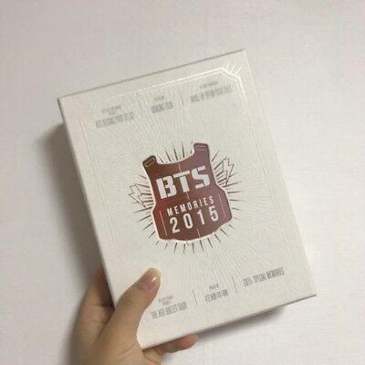 BTS BANGTAN BOYS Memories of 2015 Official DVD Photobook Set Opened K-POP