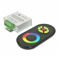 Touch Panel Color Ring LED LED RGB Controller 12/24V 6A