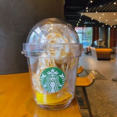Starbucks x Everland Promotion Popcorn Candy Bucket Snack Container Limited