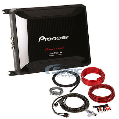 PIONEER 600W GM-D8604 4-Channel Class FD GM Digital Car