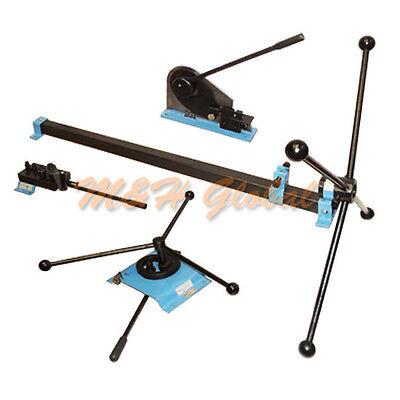 Metal Shear Ornamental Rivet Punch Bender Roll Curve Bending Craft