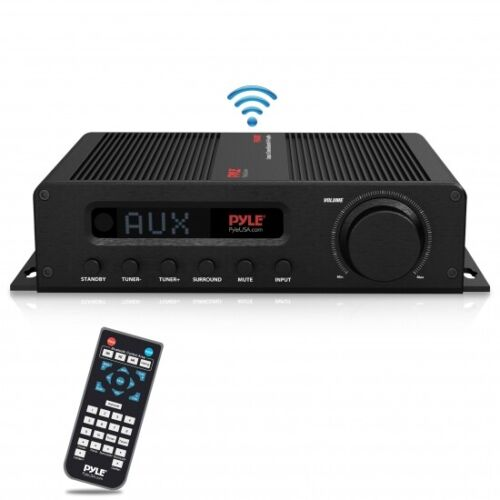 Compact 5-Channel Bluetooth Amplifier, Hi-Fi Amp Receiver with HDMI FM Radio