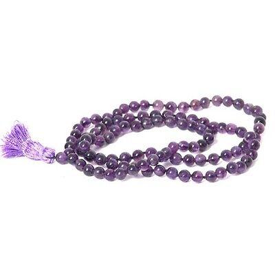 Prayer Mala Beads - Amethyst - 108 Prayer Beads
