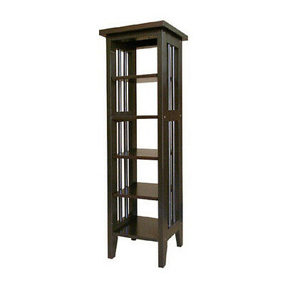 Mission Style Espresso Color Shelf or Plant Stand - Free Shipping ()