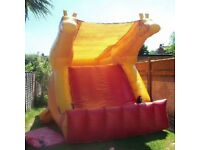 Bouncy castles and slides