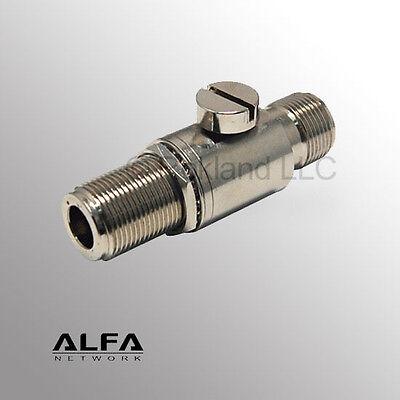 ALFA ALR62N N-Female Lightning Protector 0-6 GHz Wi-Fi