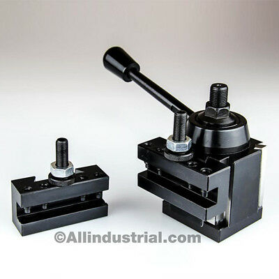 3 Pc Oxa Wedge Tool Post Intro Set For Minihobby Lathes Quick Change Tooling