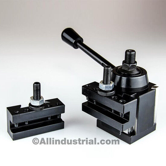 3 PC OXA WEDGE TOOL POST INTRO SET FOR MINI/HOBBY LATHES QUICK CHANGE TOOLING