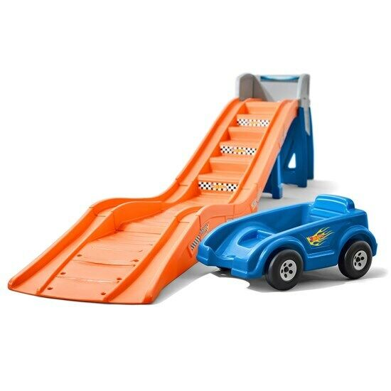 Step2 Hot Wheels Extreme Thrill Coaster - Toy Roller Coaster Ride On