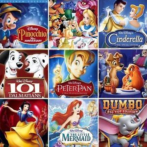 Want: Disney Classic DVDs