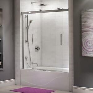 tub free in product door hinged dreamline aqua doors today shipping overstock frameless garden home
