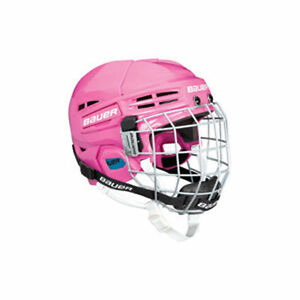 Bauer 1800 Hockey Helmet w/ cage PINK Kitchener / Waterloo Kitchener Area image 1