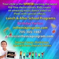 Kids Dance Instructor- In the Mix