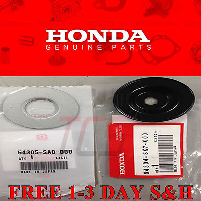 OEM HONDA ACURA SHIFT LINKAGE BUSHING WASHER SET ALL B SERIES 90 01 CIVIC EG EK