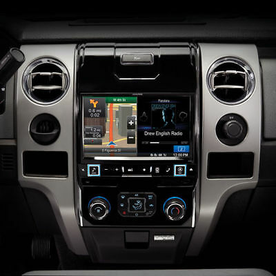ALPINE 2009-Up Ford F-150 In-Dash DVD Car Stereo Restyle System | X009-FD2