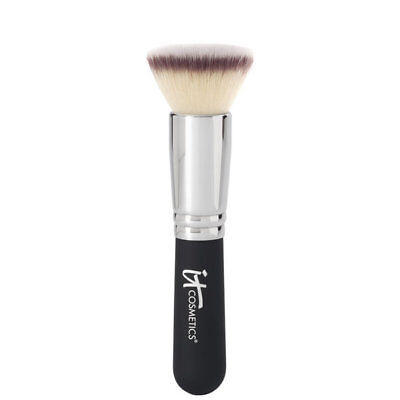 It Cosmetics Heavenly Luxe Flat Top Buffing Foundation Brush No.#6 New Authentic