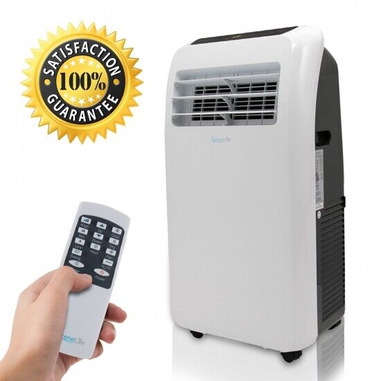 SereneLife Portable Air Conditioner and Heater, White