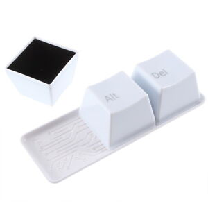 neuFashion Ctrl Alt Del Keyboard Key Coffee Tea Cup New