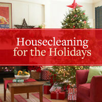 House cleaning offered for the holidays