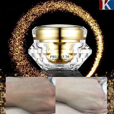 BEST Permanent Whitening Cream RiRe Premium White Pure Goat Milk Cream