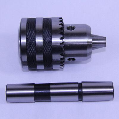SHARS 1//2 Heavy Duty Sleeve Bearing Key KEYED Drill Chuck 33JT MT4 Arbor Shank 202-5003+1331 P