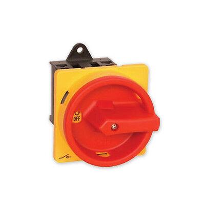 Hauptschalter Drehschalter 4-polig 16 A Not-Aus Schalter 4P16A-E Schalter