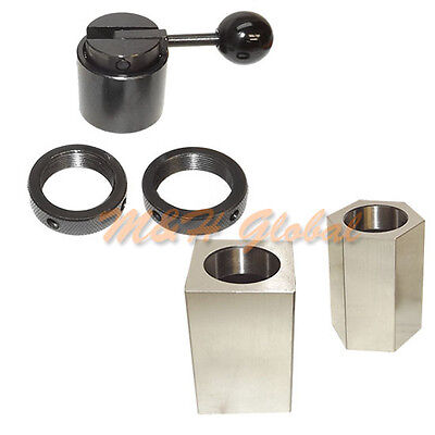 5c Collet Block Chuck Hex Square Closer Rings Milling Lathe Grinder