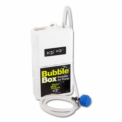 Marine Metal Aerator Bubble Box 1.5V Portable Air Pump Bait Minnow Fishing