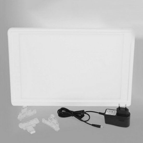 Dentist Dental X-Ray Film Illuminator Light Box X-ray Viewer light Panel A4
