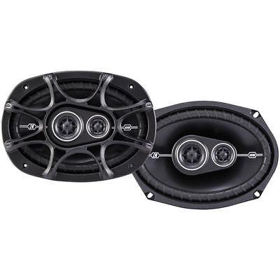 """Kicker 41DSC6934 720W D-Series 6"""" x 9"""" 3 Way Car Audio Coaxial Speakers"""