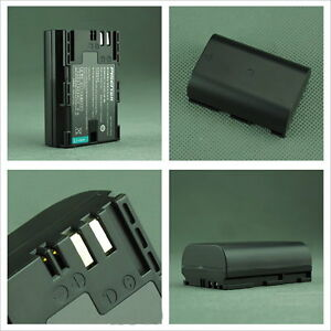 PISEN BATTERY FOR CANON REBEL 70D 6D 7D 60D 5D MARK III LP-E6