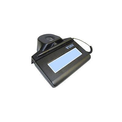 Topaz Tf-lbk463 Idlite 1x5 Fingerprint Scanner Signature Pad - Lcd