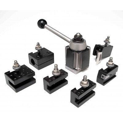 Aloris 4-set 7 Pc. Ca Quick Change Lathe Tool Set Tool Post Holders Cnc Usa