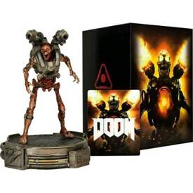 DOOM Collector's Edition Statue and Box