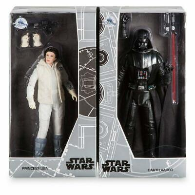 D23 Disney Expo 2017 Star Wars Princess Leia & Darth Vader (MINOR BOX CREASE)