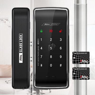 Keyless Lock for Glass Door MI-260S Digital Doorlock Entry Pin+RFID Clip Type