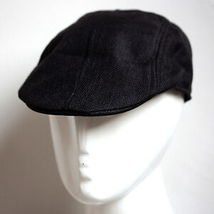 White Black Grey Casual Newsboy Flat Cabbie Beret Duckbill Golf Driving Cap Hat