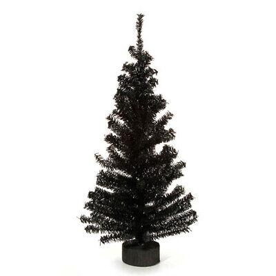 Darice Halloween Decor - Black Canadian Pine Tree 2ft.