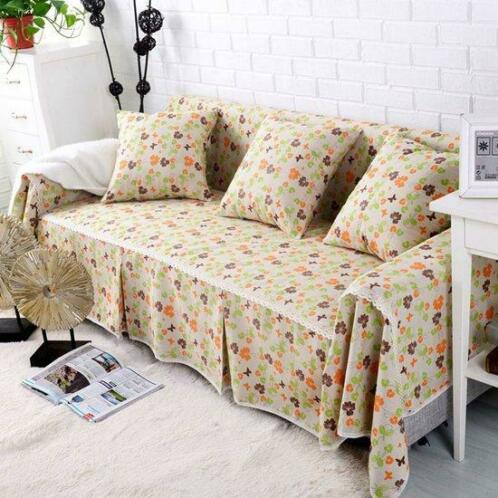 Peachy Sofa Cover Couch Hoeslaken Katoenmix 1 4 Zits Sofa Protec Bralicious Painted Fabric Chair Ideas Braliciousco