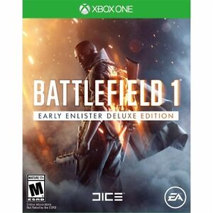 Battlefield 1 Deluxe edition Xbox1 new sealed
