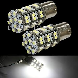 4X-6000K-Xenon-White-45-LEDs-SMD-1156-RV-Camper-Trailer-Interior-Light-Bulbs