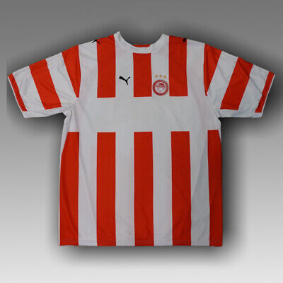 Olympiacos 2006/2007 Home Football Soccer Shirt Jersey Puma Maglia Kit Greece image