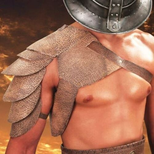 Spartacus Leather Pauldrons Museum Replicas