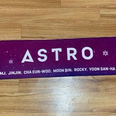ASTRO Aroha Official MD Slogan Towel Limited Rare