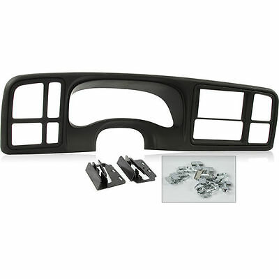 Metra DP-3002B Double DIN Truck Dash Kit 1999-02 Silverado Sierra + GM (Truck Dash Kits)