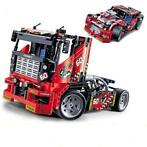 Decool 3360 608 stks Race Truck Auto 2 In 1 Transformeerb...