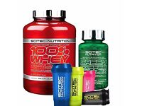 Scitec 100% Whey Protein Professional 2350g Free Green Coffee + Shaker