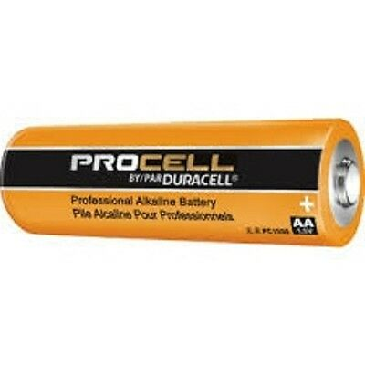 24 NEW DURACELL PROCELL AA Alkaline Batteries !!