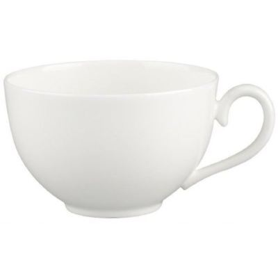 Villeroy and Boch White Pearl Breakfast Cup 0.40L (Cup Only) White Breakfast Cup